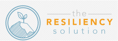 the resiliency solution logo striped