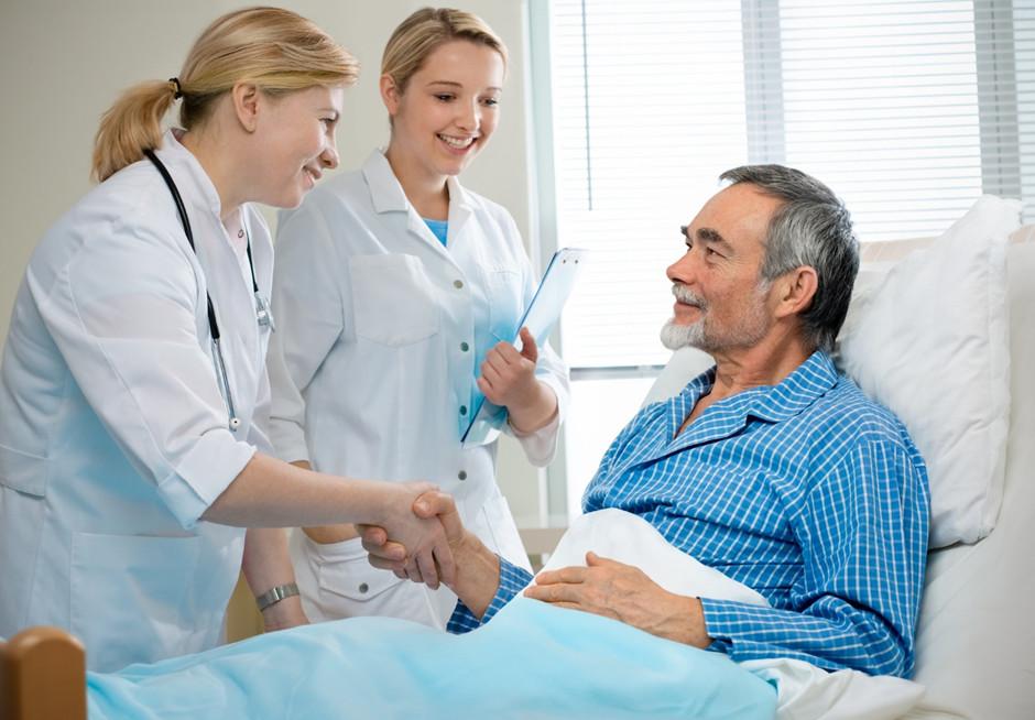 adjusting to hospital life